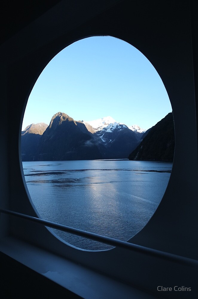 Good morning Milford Sound by Clare Colins