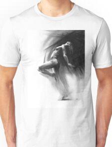 Fount - Conté Drawing Unisex T-Shirt
