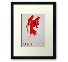 Unit 02 Framed Print
