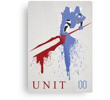 Unit 00 Metal Print