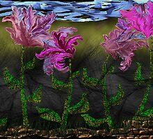 Dancing Flowers by AllArt54