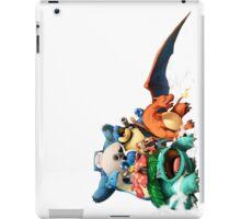 Pokemon Awesome Ash Red Starter Pokemon and Pikachu Indigo GB Crew iPad Case/Skin