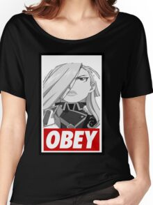 Obey Ice Queen  Women's Relaxed Fit T-Shirt