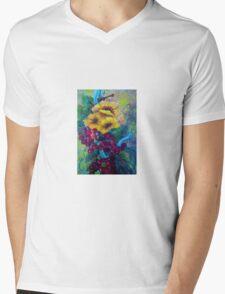 Too Delicate for Words Mens V-Neck T-Shirt