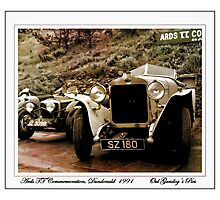 Delage Photographic Print