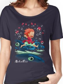 Goldfish by the Sea Women's Relaxed Fit T-Shirt