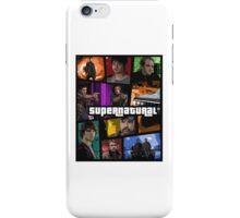 supernatural gta iPhone Case/Skin