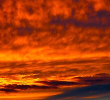 Tidal wave of flames  by MarianBendeth
