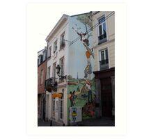 Brussel's wit  Art Print
