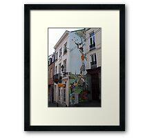 Brussel's wit  Framed Print