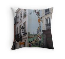 Brussel's wit  Throw Pillow