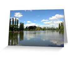 Lake Burley Griffin Landscape Greeting Card