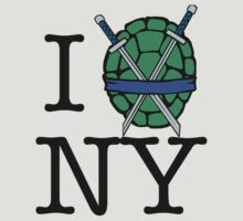 New Yorkers in a Half Shell (The Leader Edition) by Daniel Rubinstein