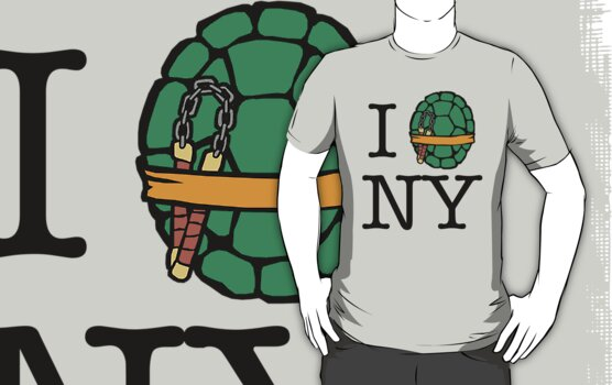 New Yorkers in a Half Shell (The Party Dude Edition) by Daniel Rubinstein