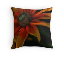 Candycorn Burst Throw Pillow