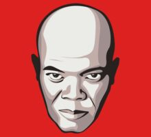 Samuel L. Jackson - Faces Of Awesome Kids Clothes