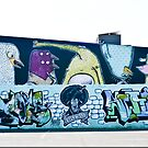 Abstract Graffiti Wall by yurix