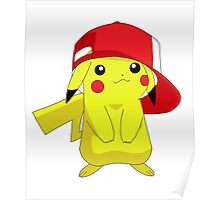 Pokemon Pikachu in Hat Cool Pika Poster