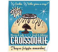 """Croissookie """"vintage"""" ad  Poster"""