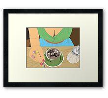Coffee and Milk : Sweet Framed Print