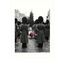Guards - Windsor, England Art Print
