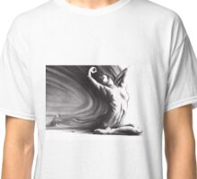 Fount iv - conté drawing  Classic T-Shirt