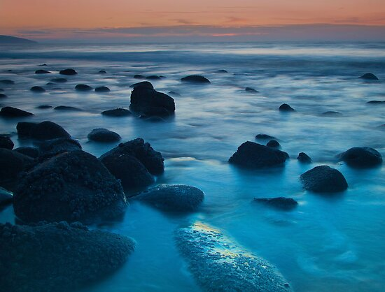 Rocky Early Morning Beach by Simon West