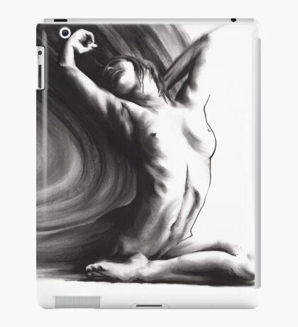 Fount iv - conté drawing  iPad Case/Skin