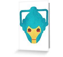 Cyberman Greeting Card
