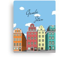 Gamla Stan Stockholm Canvas Print