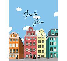 Gamla Stan Stockholm Photographic Print