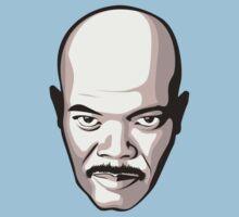 Samuel L. Jackson - Moustache T-Shirt Kids Tee