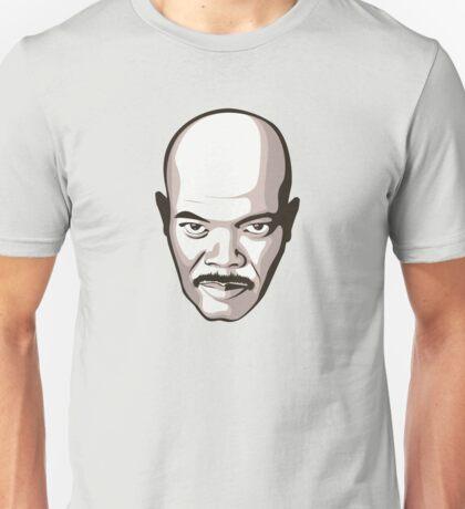 Samuel L. Jackson - Moustache T-Shirt Unisex T-Shirt