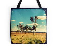 Eucalyptus Trees Through The Viewfinder (TTV) Tote Bag