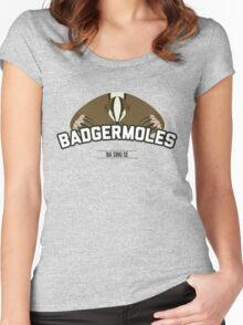 Ba Sing Se Badgermoles Women's Fitted Scoop T-Shirt