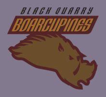 Black Quarry Boarcupines Kids Tee