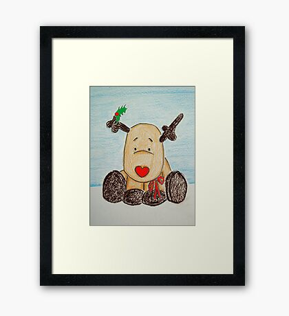 Holly BowLightly Framed Print