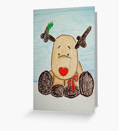 Holly BowLightly Greeting Card
