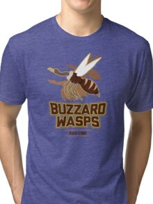 Bau Ling Buzzard Wasps Tri-blend T-Shirt