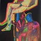 Collage of Naked Nudes by Tristana Fitzgerald by Loveslifeandart