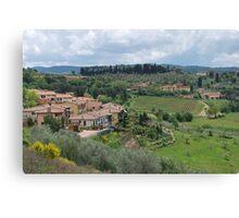 Panzano in Chianti Canvas Print