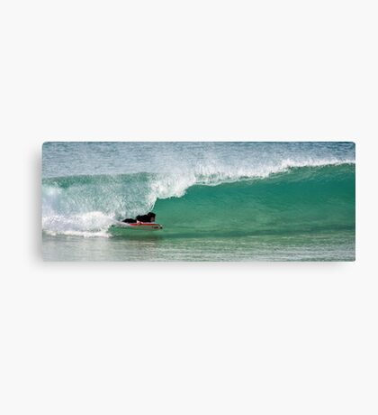 To the slot Canvas Print