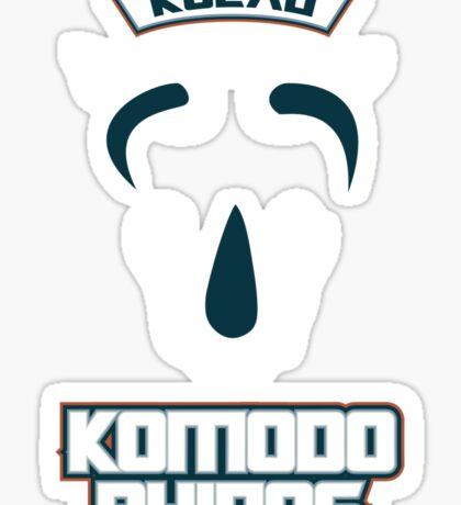 Kolau Komodo Rhinos Sticker