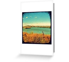 Dangars Lagoon Through The Viewfinder (TTV) Greeting Card
