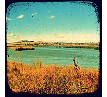 Dangars Lagoon Through The Viewfinder (TTV) Photographic Print