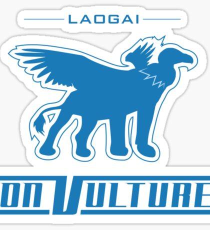Laogai Lion Vultures Sticker