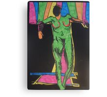 The Naked Puppet by Tristana Fitzgerald Canvas Print