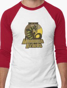 Mo Ce Mongoose Lizards Men's Baseball ¾ T-Shirt