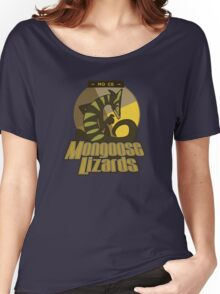 Mo Ce Mongoose Lizards Women's Relaxed Fit T-Shirt