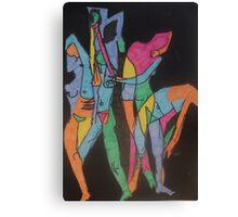 Raw Yoga by Tristana Fitzgerald Canvas Print